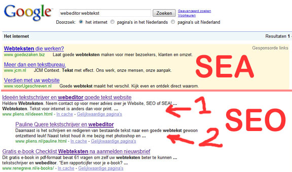 thesis for search engine